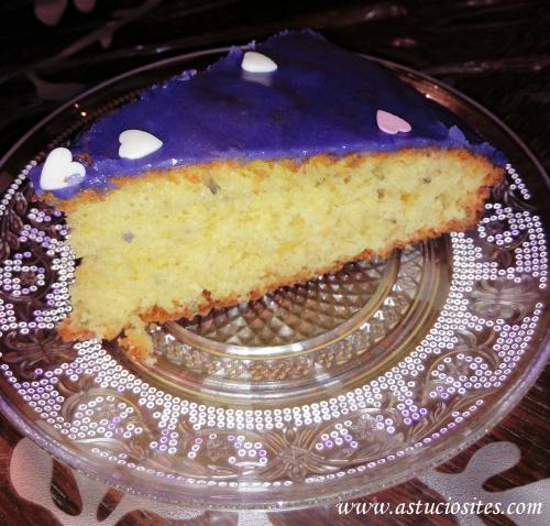 Gâteau au yaourt à la lavande